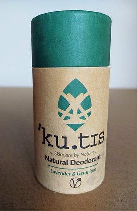 'Ku.tis Natural Deodorant - Lavender & Geranium
