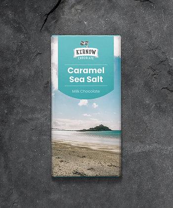 Kernow Chocolate - Caramel Sea Salt 100g