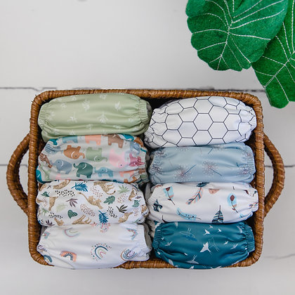 Baba & Boo One Size Nappies (Hope Collection)