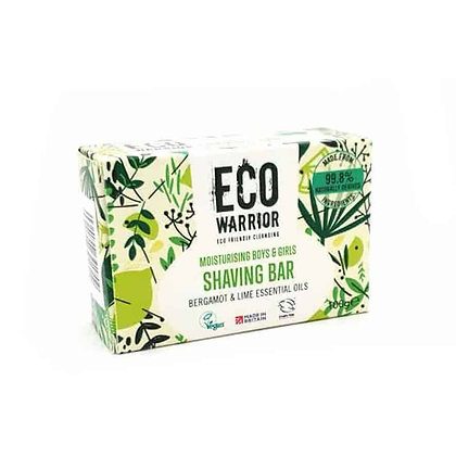Eco Warrior Shaving Bar - Bergamot & Lime 100g