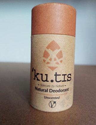 'Ku.tis Natural Deodorant - Unscented