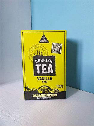 Cornish Tea - Vanilla Chai Fusion Tea Bags (15)