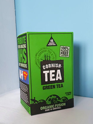 Cornish Tea - Green Tea Fusion Bags (15)