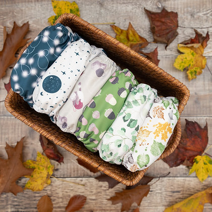 Baba & Boo One Size Nappies (Cosy Collection)