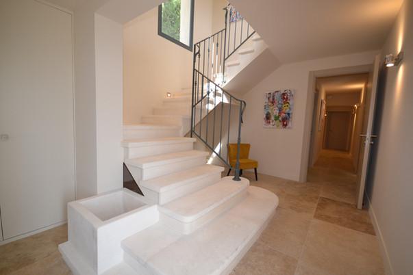 Escaliers en pierre - Rez de chaussée