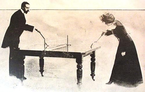 卓球 起源