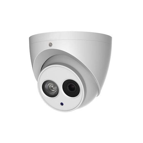 Camera IP exterior 6MP deteção inteligente (IVS), deteção facial IV a 30 mts