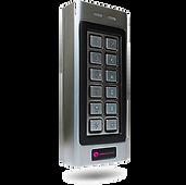 controlador de acessos PIN + Cartão de proximidade