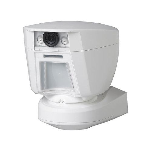 Detetor exterior com camera sem fios para centrais DSC