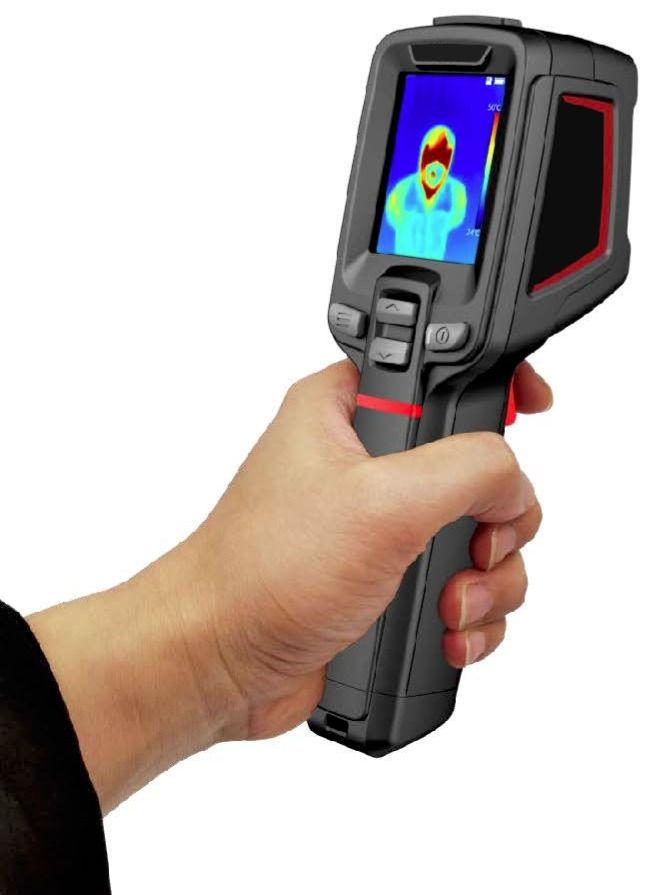 Camara térmica para medição da febre protátil