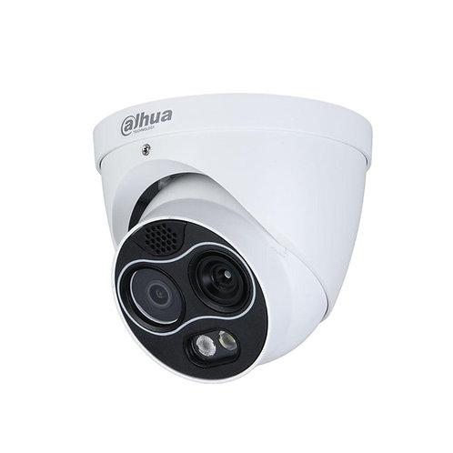 Camara térmica de deteção de intrusão perimetral + camara visível, Prev5d2205