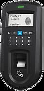 Leitor de assiduidade biométrico impressão digital ou cartão