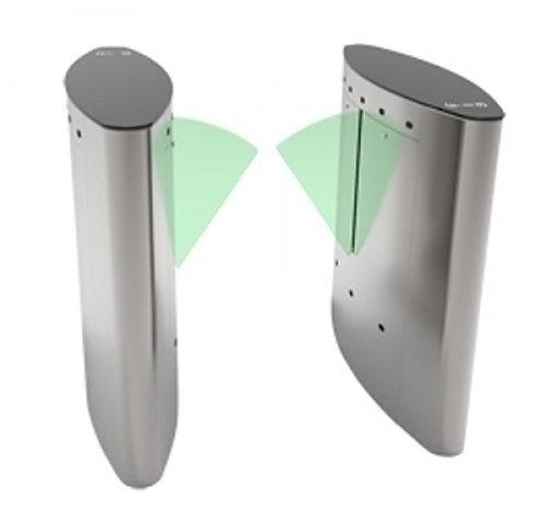 Torniquete motorizado tipo aba com armário a direita e esquerda