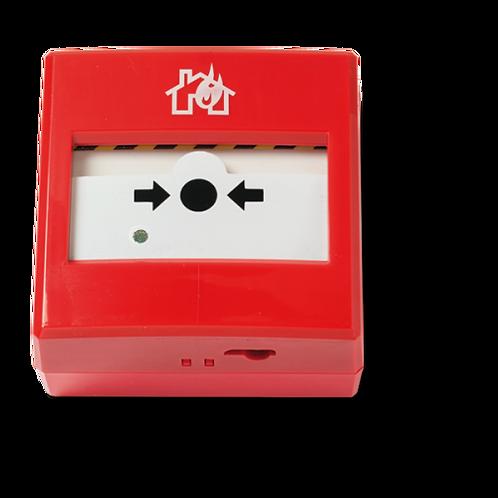 Botoneira de alarme de incêndio manual certificada INIM