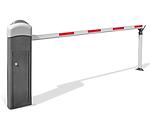 Barreira para controlo de entradas e saídas de viaturas