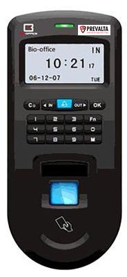 Leitor biométrico autónomo ANVIZ Impressões digitais, RFID e teclado 2000 gravaç
