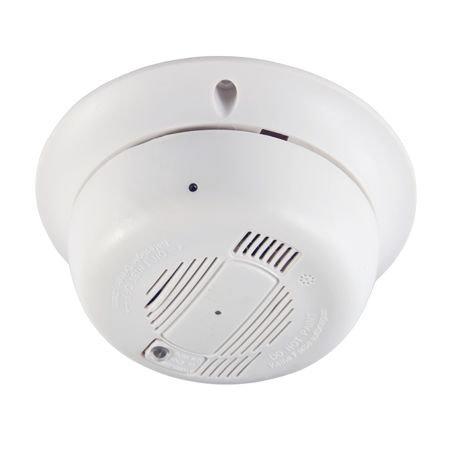 Câmara IP WiFi oculta em detector de fumos