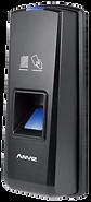 Controlo de acessos por impressão digital ou cartão