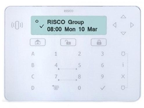 Teclado LCD táctil Branco para centrais LightSyS