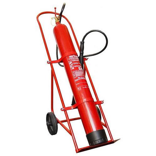 Extintor co2 10 Kg com carro