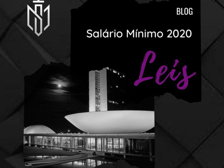 Salário Mínimo 2020