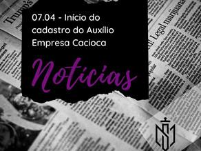 Prefeitura do Rio abre cadastro para Auxílio Empresa Carioca