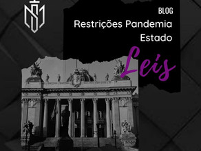 Medidas Restritivas do Estado Rio de Janeiro (Feriadão) - Março/2021