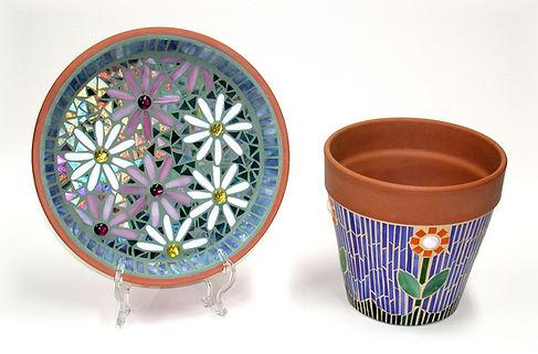 Flower pot and plate.jpg
