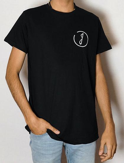 Tee Shirt Noir unisexe