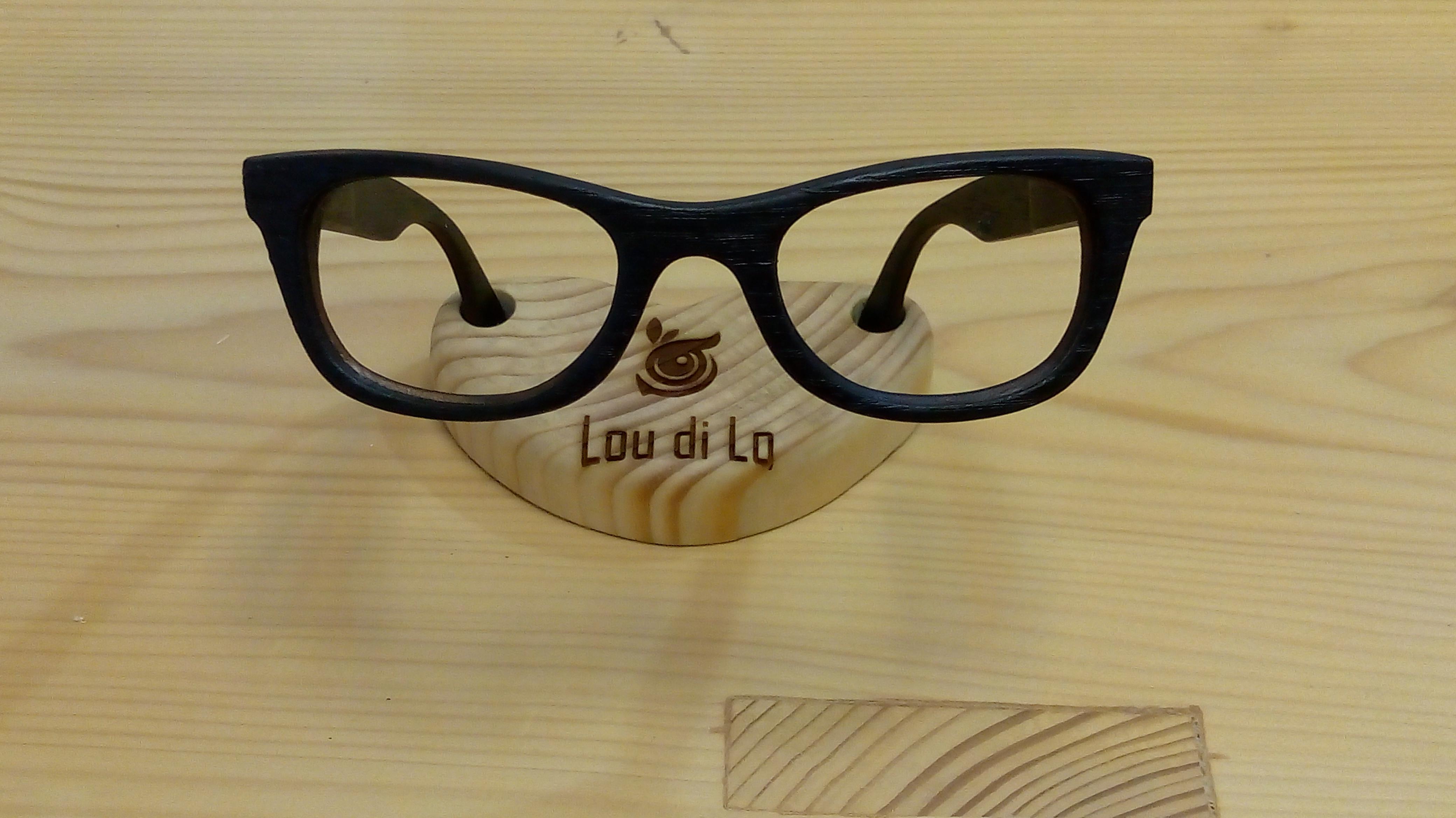 Bog oak sunglasses