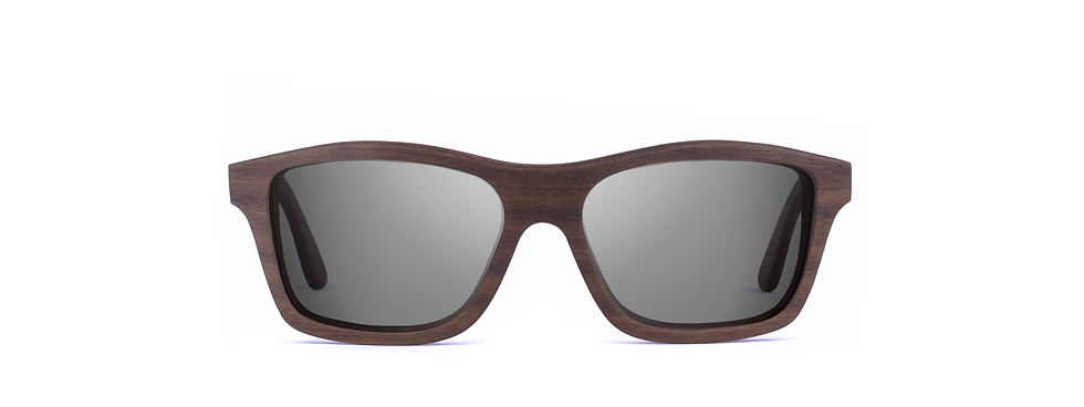 prov wood sunglasses front view