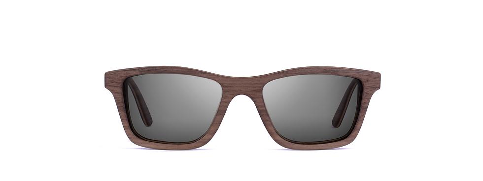 KOLEDO wood sunglasses front view