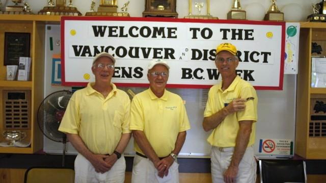 BC Week Men's Triples 2011