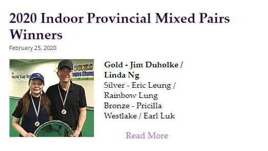 Linda - Prov indoor mixed pairs gold.JPG