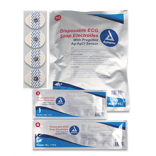 Snap Electrodes - Disposable
