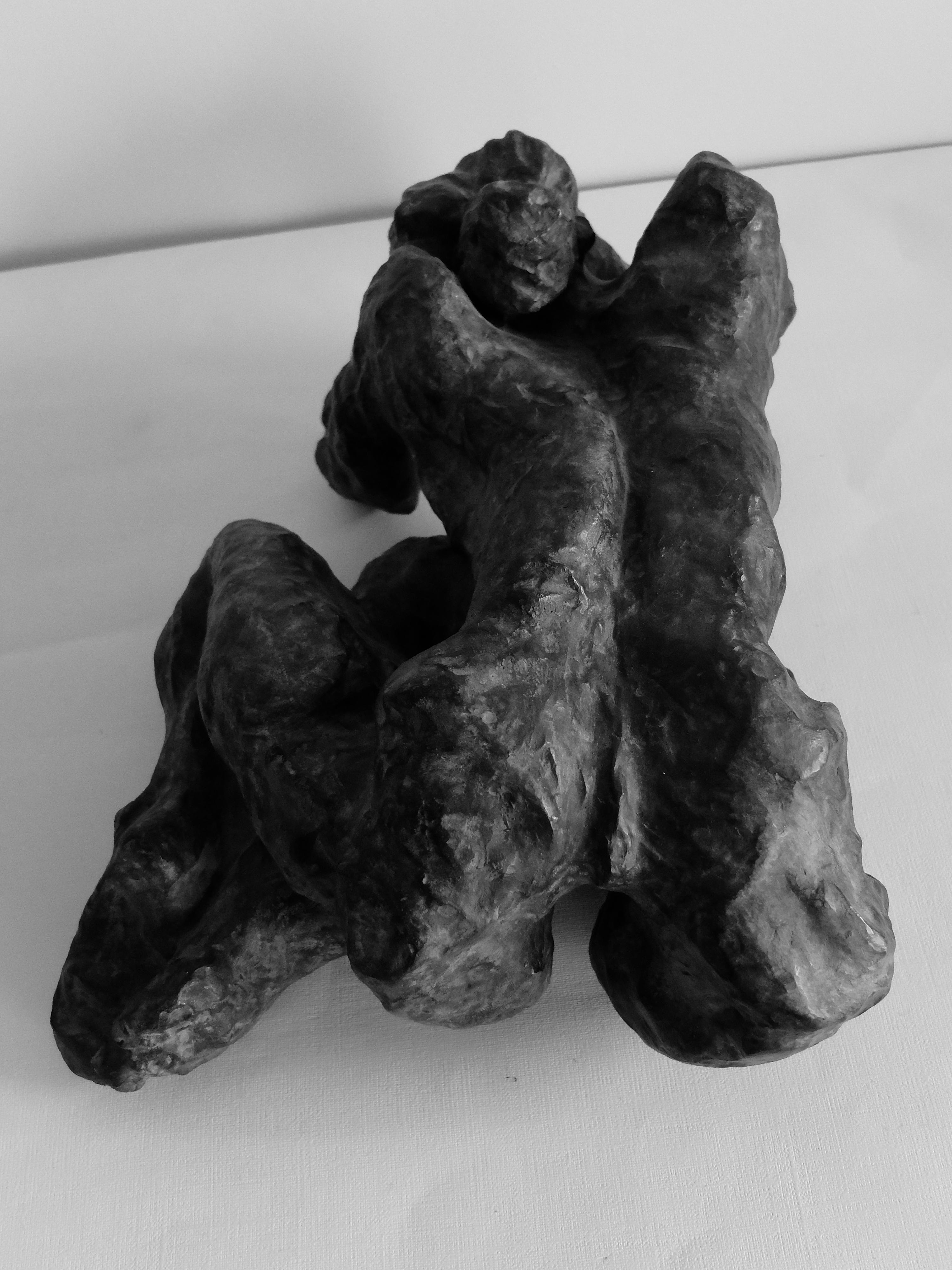 Femme Egon Schiele vue de dos