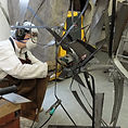 Travail dans l'atelier Paul FLury