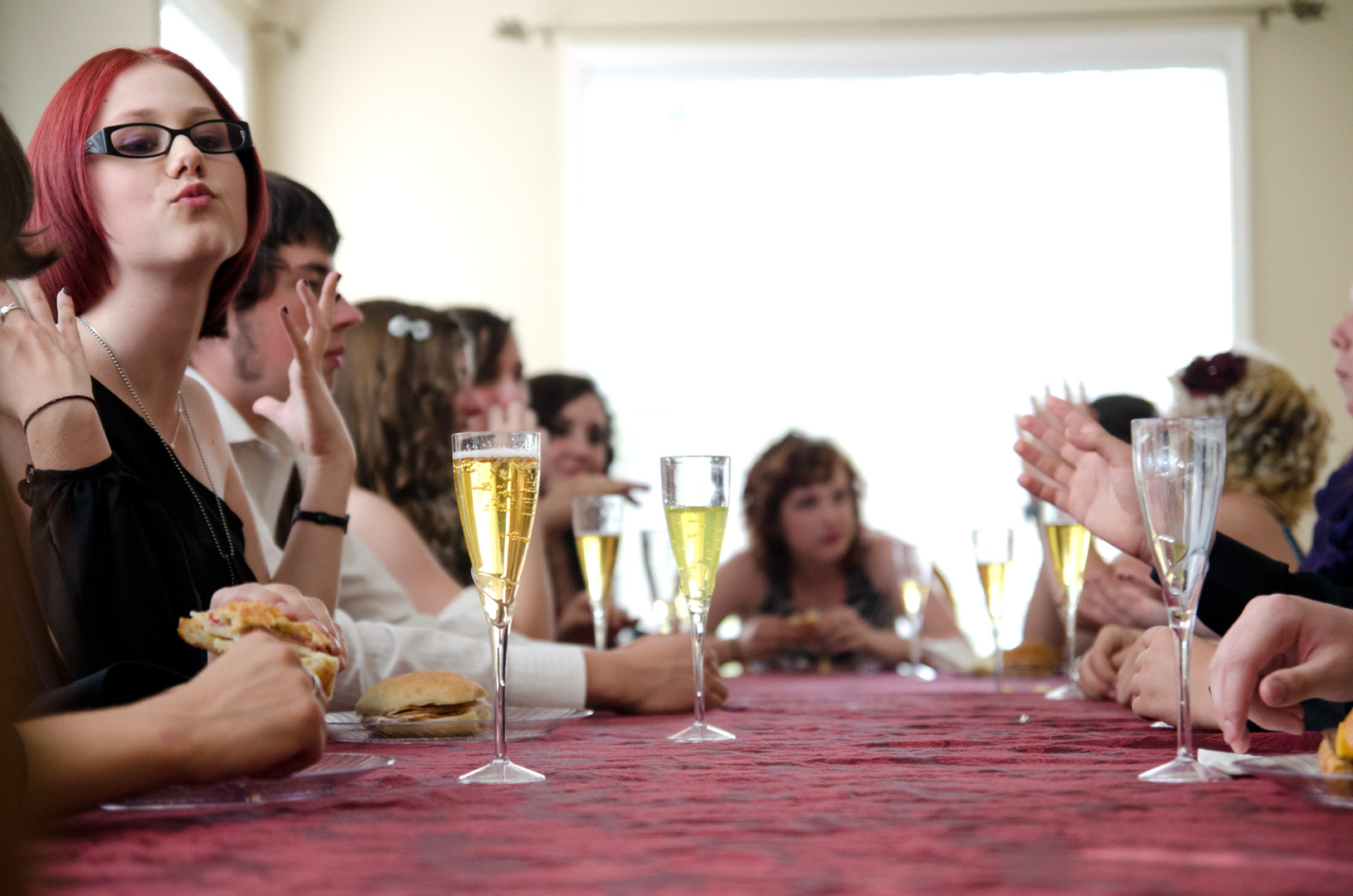 Kendra Burton, a homeschooled sophomore, had dinner with 17 of her other homeschooled friends at her house before the prom on Saturday. Burton and her friends take classes at Village Home, a center that organizes field trips and classes for homeschooled students in Beaverton, Oregon. (The Oregonian)
