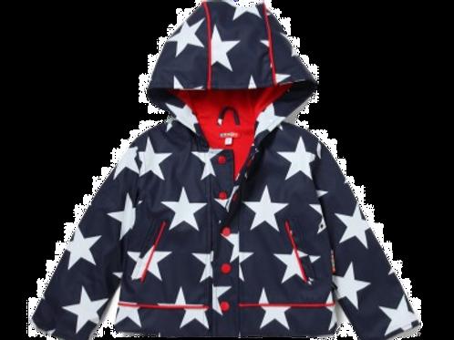 Raincoat - Navy Star