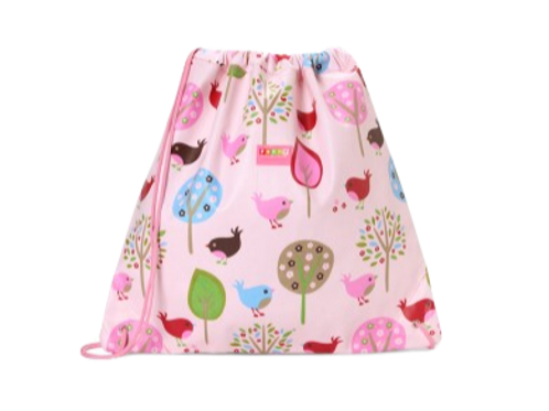 Drawstring Bag - Chirpy Bird