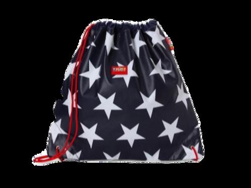Drawstring Bag - Navy Star