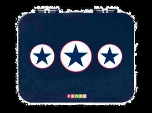 Bento Box - Navy Star