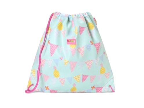 Drawstring Bag - Pineapple Bunting