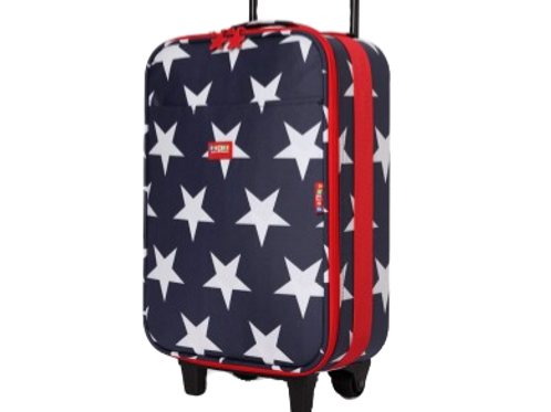 Wheelie Case - Navy Star