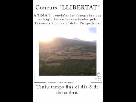 """Guanyador del concurs fotogràfic """"Llibertat"""""""