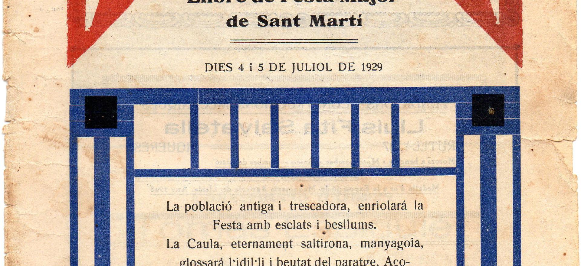 Festes 1929
