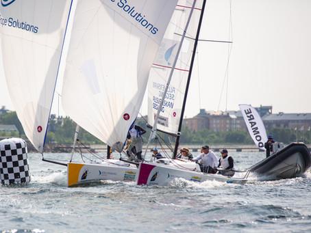 Enormt tryck på Sailing Week!!