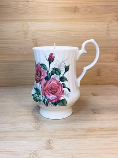 chandelle vintage a la rose