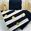 Thumbnail: ensemble de 6 serviettes de table en coton doublé