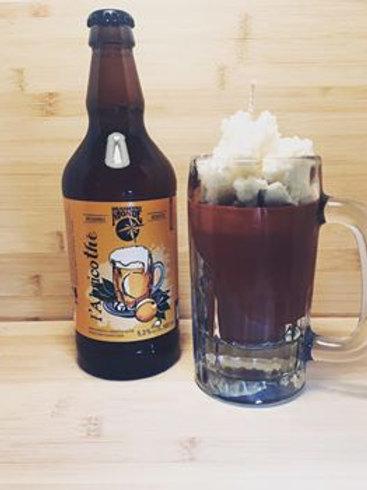 chandelle buck de bière à la bière